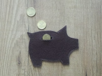Cómo hacer monedero hucha con fieltro DIY | facilisimo.com