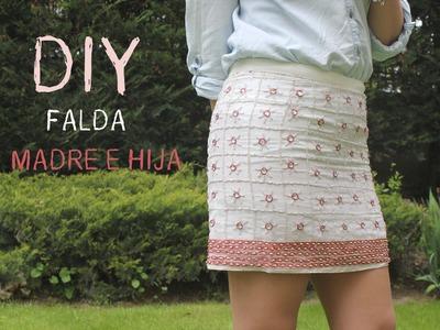 Como hacer y coser una falda joya