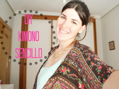 DIY Cómo hacer un Kimono sencillo