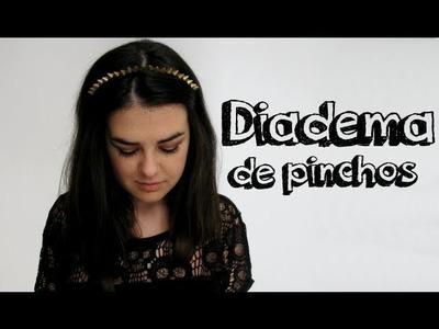 DIY - Diadema de pinchos [ Studded headband]