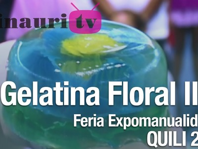 DIY - Geranio Gelatina Artística ( Geranium artistic gelatin )