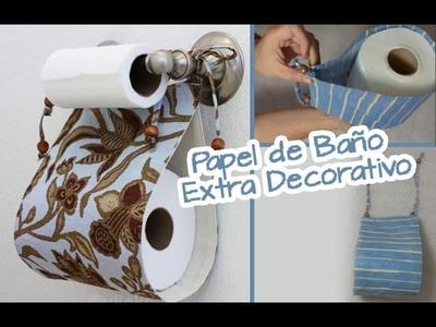 Extra de Papel de Baño :: Decorativo para Baños :: Manualidades Chuladas Creativas
