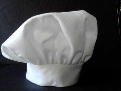 Gorro de chef fieltro
