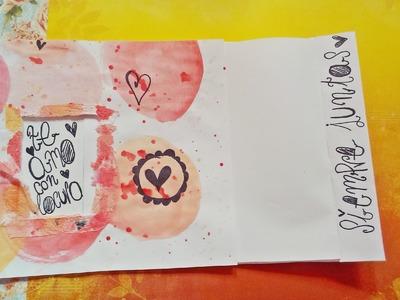 Hojita decorada para San Valentín. [Tutorial.*]♥