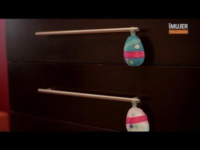 Huevos de pascua de fieltro | Cómo hacer huevos de pascua | @iMujerHogar