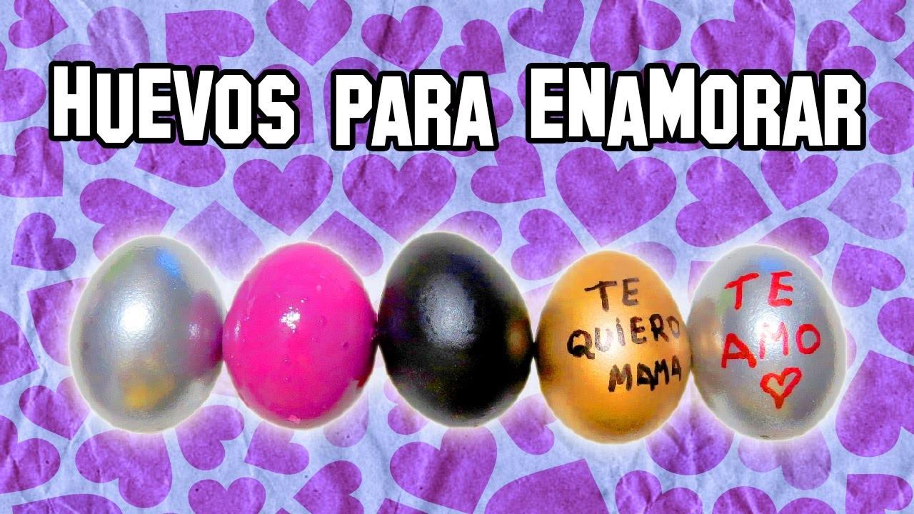 Huevos Llenos De Amor Para Regalar | DIY