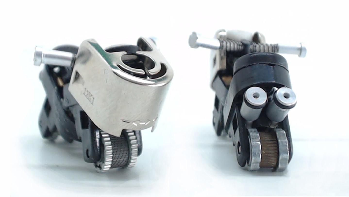 Minimoto con dos encendedores, cómo se hace