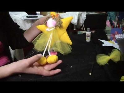Muñecos Soft. nena sobre estrella comunion  2.2. proyecto 37