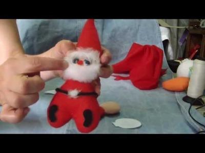 Papá Noel servilletero fácil. proyecto 99