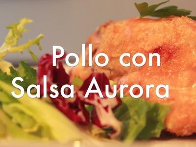 Pechugas de Pollo al Horno en Salsa Aurora - Recetas de Cocina