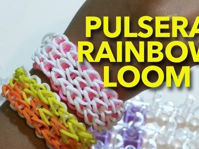 PULSERA RAINBOW LOOM