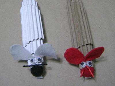 Ratón de cartón - Manualidades con Reciclaje