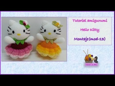 Tutorial amigurumi Hello Kitty - Montaje (mod-13)