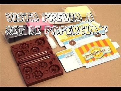 Vista Previa a Set de Paper Clay Japones. Craftndcolor