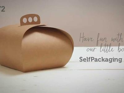 Cajas clásicas para pasteles - Vídeo de montaje ref. 2272 SelfPackaging