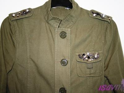 """DIY: Como customizar una chaqueta """"military trend"""""""