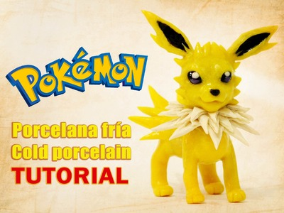 DIY - Tutorial jolteon polymer clay - porcelana fría - plastilina