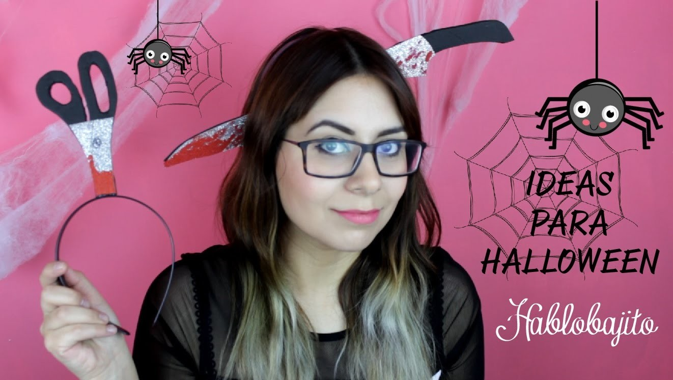 Halloween DIY. Ideas para decorar en halloween - Hablobajito