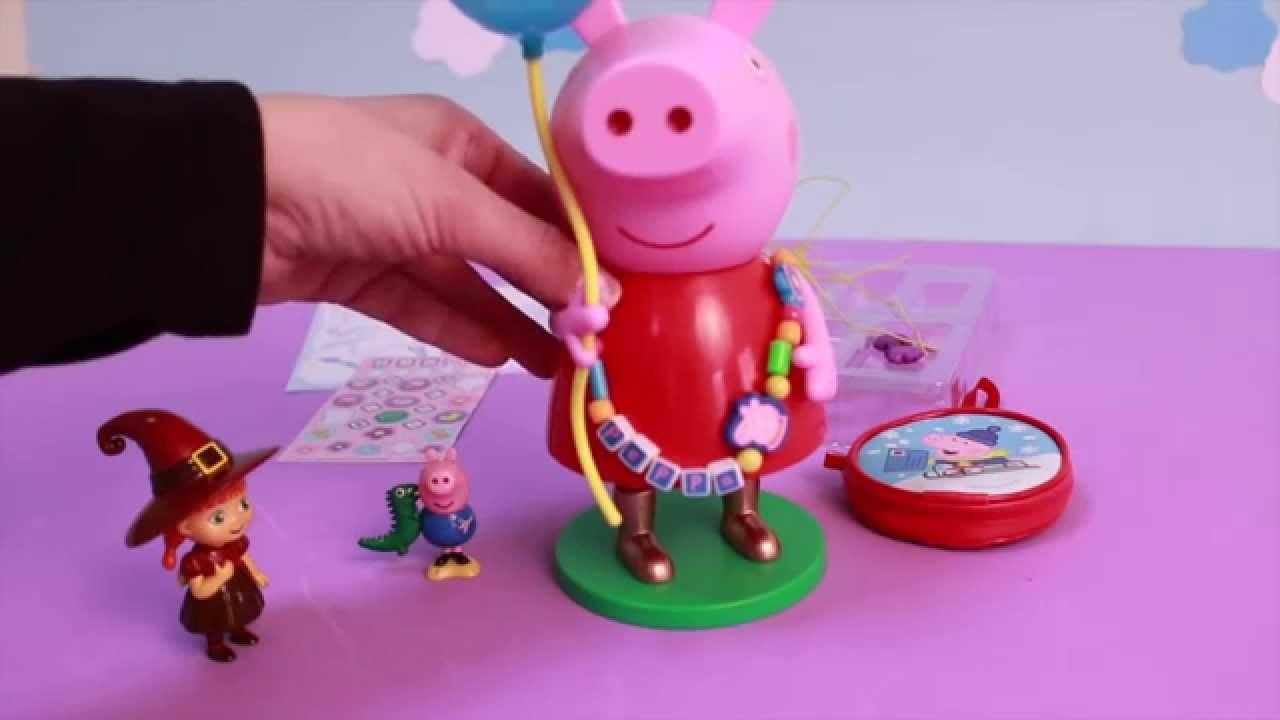 La Cerdita Peppa Kit de Bisutería de Peppa Pig Manualidades para Niños | Mejores Juguetes