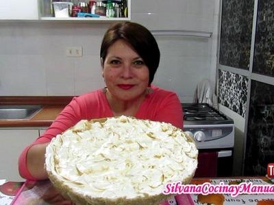 PIE DE LIMÓN SIN HORNO!!! - Silvana Cocina y Manualidades