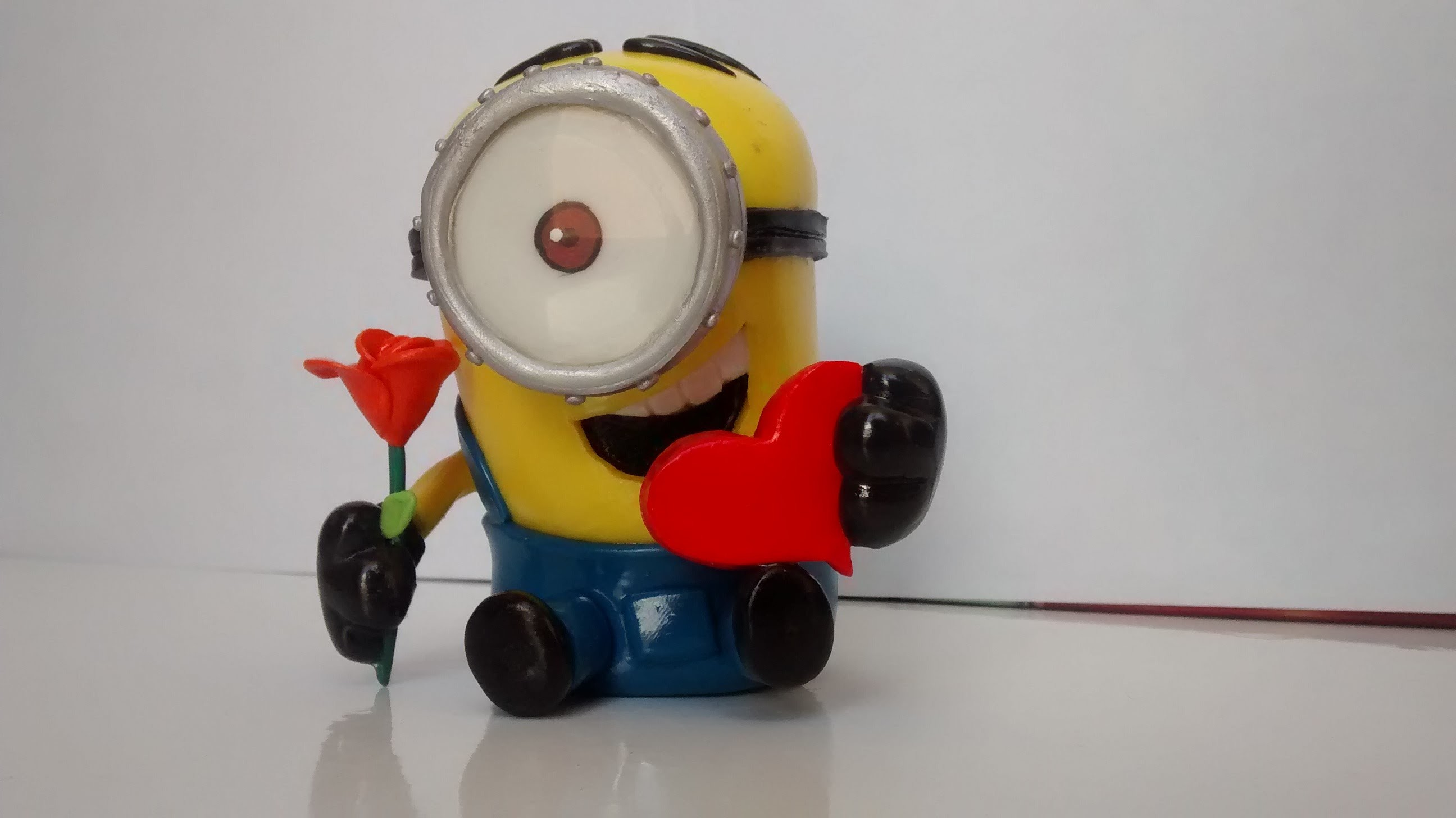 Tutorial Minion.Porcelana Fría.Polymer Clay