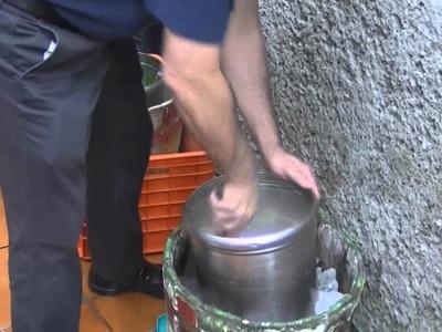 Cómo hacer nieve de garrafa de queso - CHUCHEMAN1 - 2012
