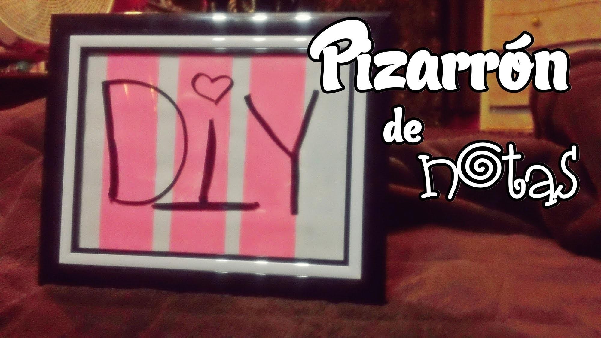 DIY Pizarrón de notas ♥ | Decora tu cuarto | Niizzpop