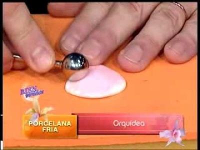 Jorge Rubicce - Bienvenidas TV - Modela una Orquídea en Goma Eva.