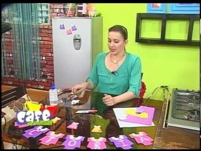 Manualidades - Recuerdos de baby shower para niña