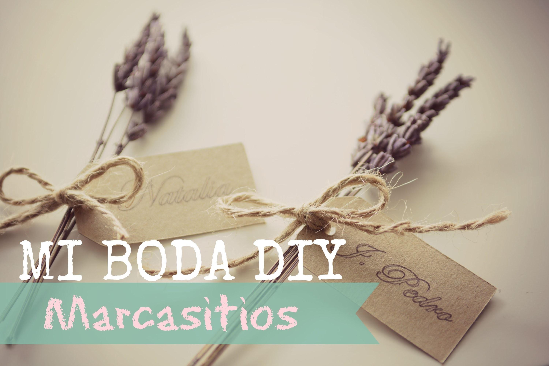 Mi Boda DIY: Marcasitios