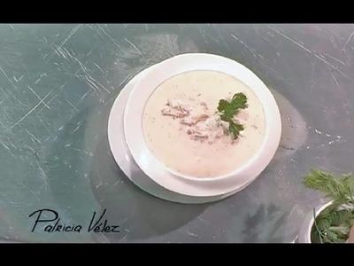 Receta. Dip de queso crema y tomates confitados
