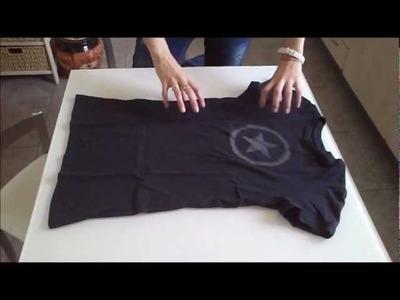 Cómo doblar una camiseta | facilisimo.com