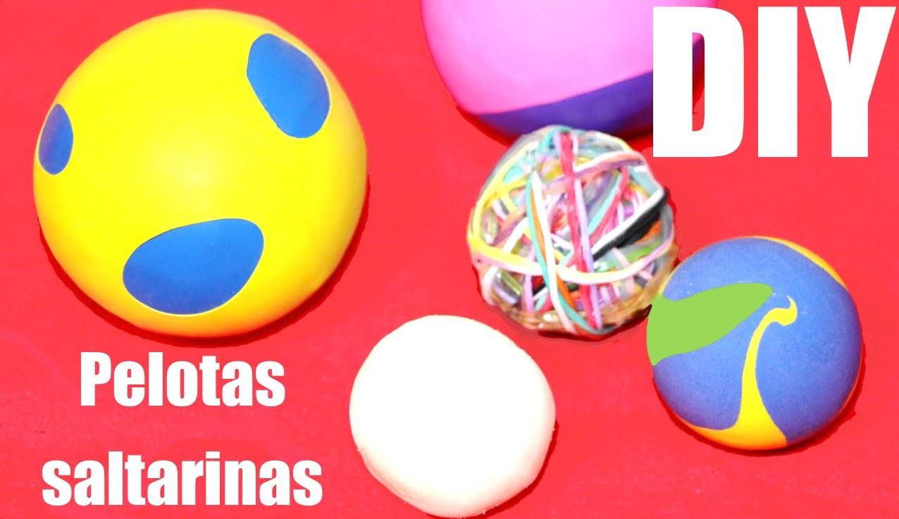 Cómo hacer bolas saltarinas o bouncy balls DIY