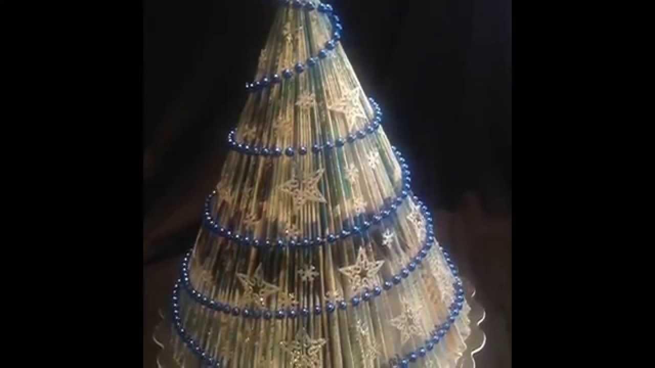 DIY Arbol de Navidad . Magazine tree