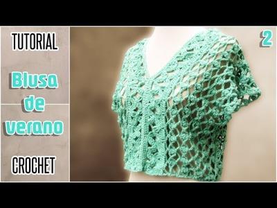 DIY Blusa para mujer, todos los talles - Tutorial paso a paso (2 de 2)