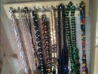 DIY - Organizador de collares (fácil)