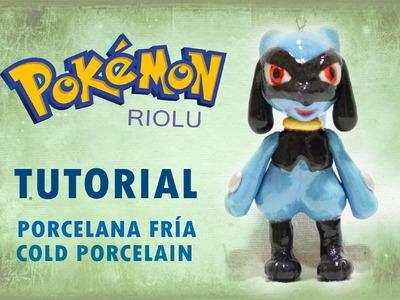 DIY Pokémon   Tutorial Riolu polymer clay  porcelana fría   plastilina