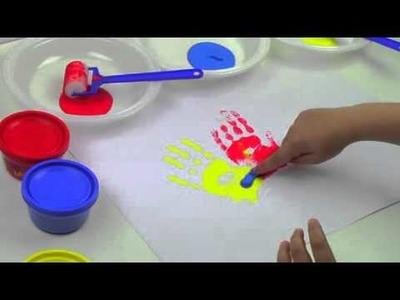 Manualidades-Toca, colorea y crea