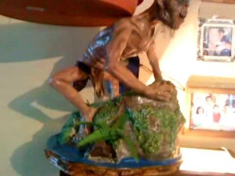 Muestra de figuras en pasta de papel Higienico(papel mache)por VíCCórdova.