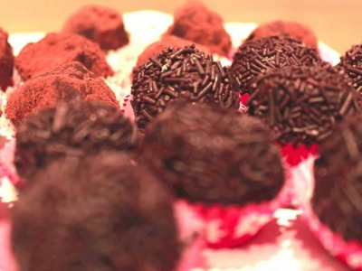 Trufas de Chocolate - Recetas para Navidad