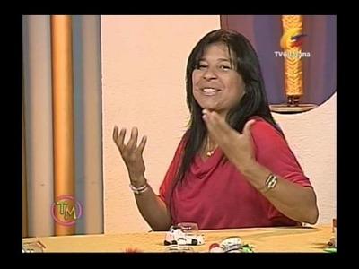Vaquitas porta palillos con: Gabriela Marquez (Taller de Manualidades)