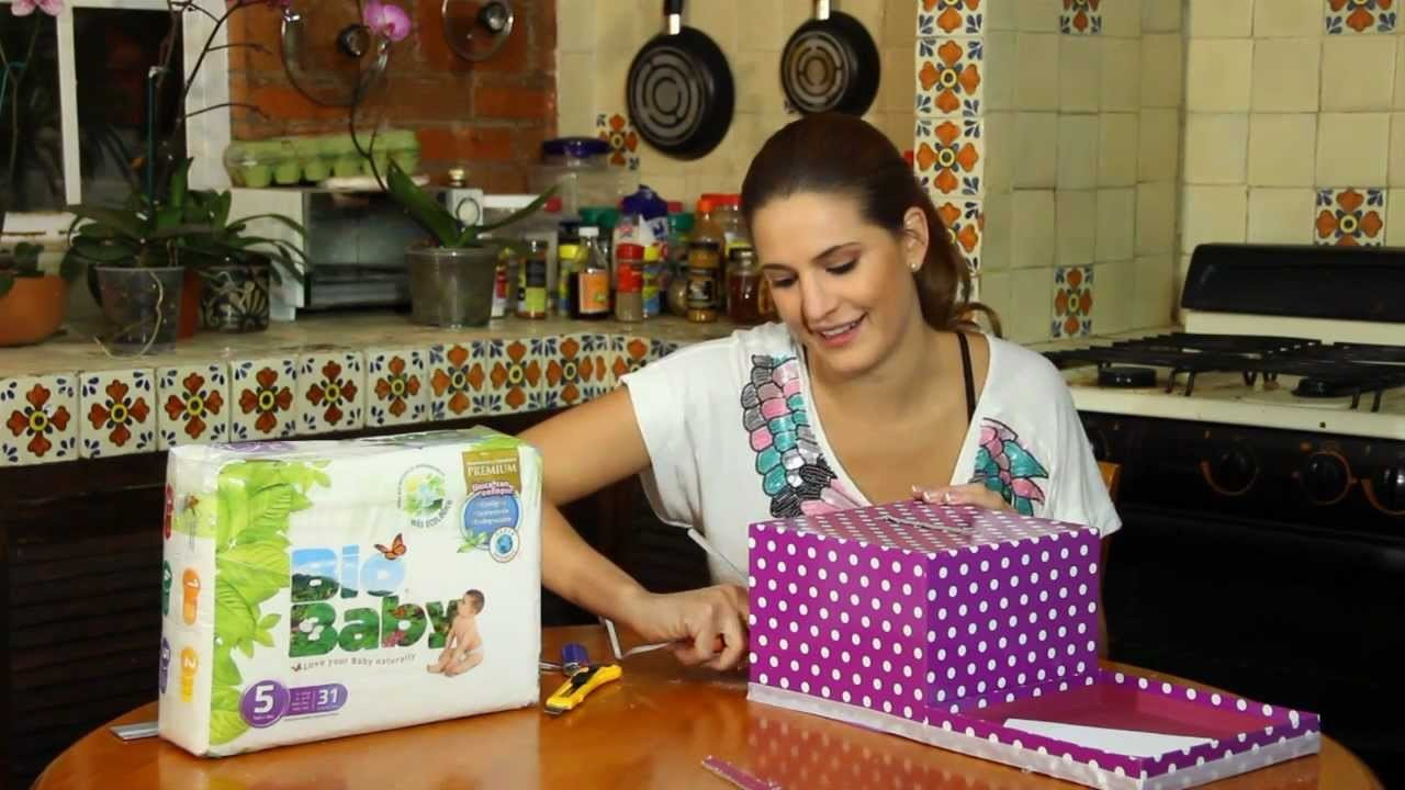 Buzon para baby shower