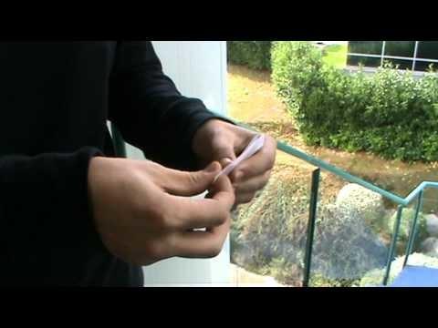 Cómo hacer un cigarrillo de liar.