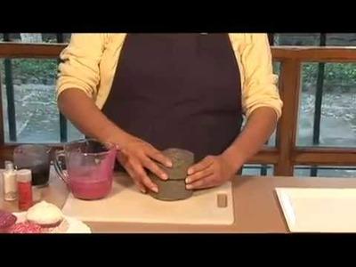 Cómo hacer un cupcake en forma de jabón