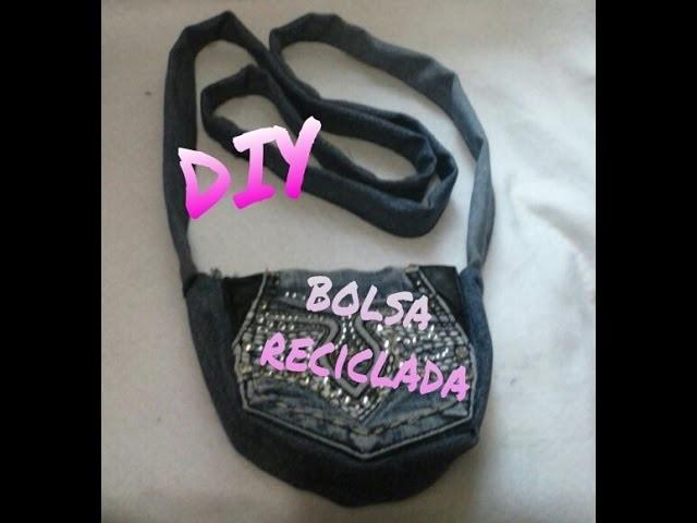 Diy, Bolsa de mezclilla reciclada