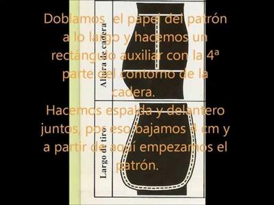 PATRÓN BASE DEL PANTALÓN DE SEÑORA