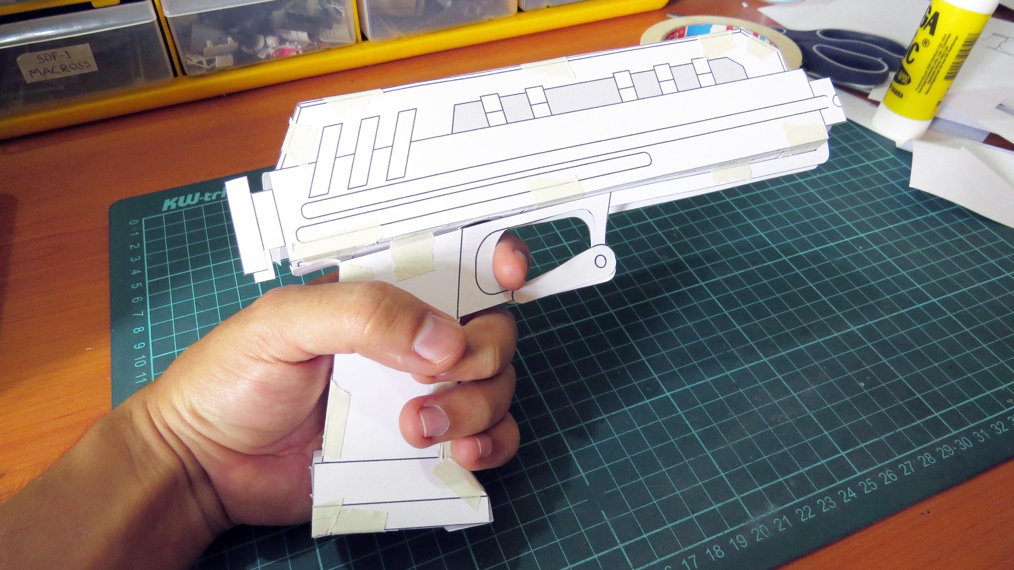 Blueprints - DIY DC-17 Clone Trooper Hand Blaster