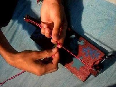 Como hacer manillas enrrolladas tutorial#2