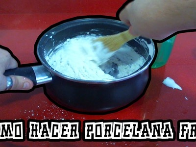 Como hacer Porcelana Fria para seguir todos mis tutoriales | Infoextra #1