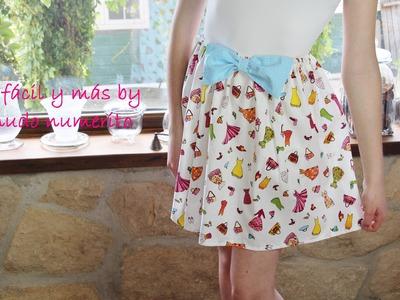 Cómo hacer una falda fácil para niña
